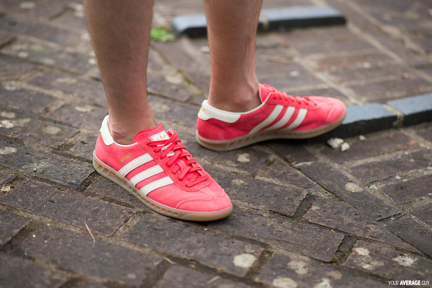 Your-Average-Guy-Style-Adidas-Hamburg-Red