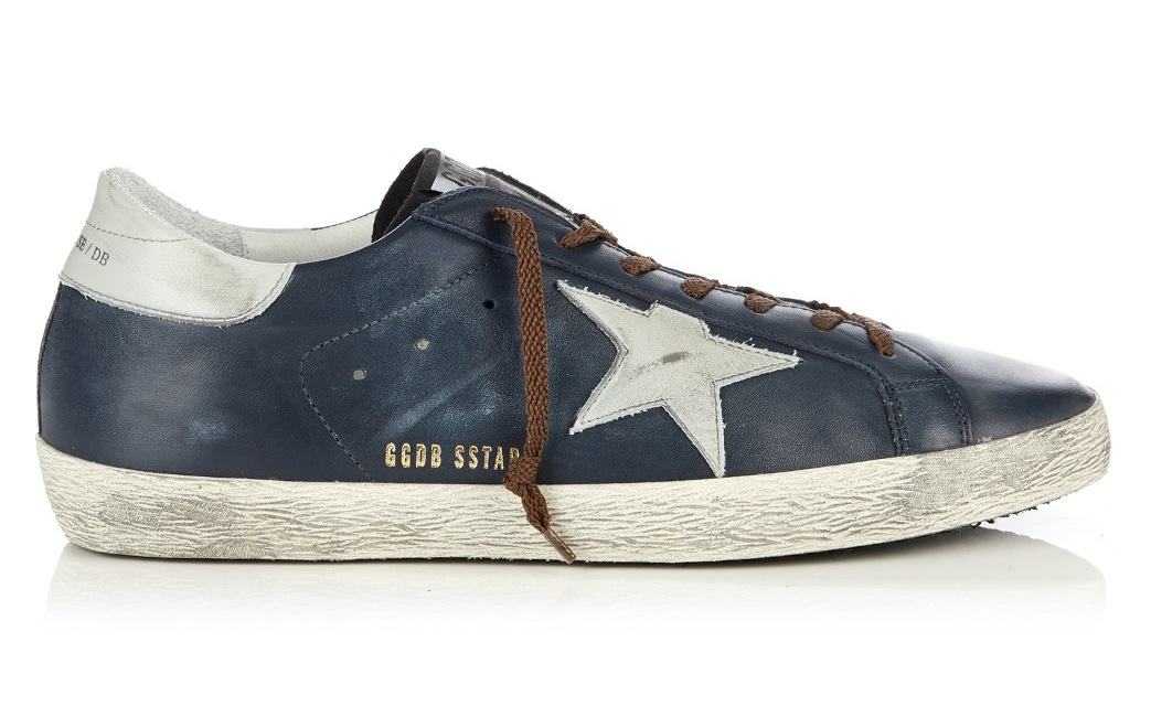 Golden Goose Deluxe Brand Super Sar Low Top Leather Trainers