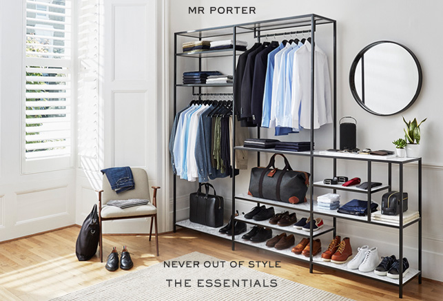 Men's Fashion At Mr. Porter