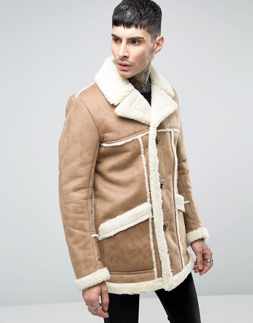 asos-faux-shearling-overcoat-in-camel