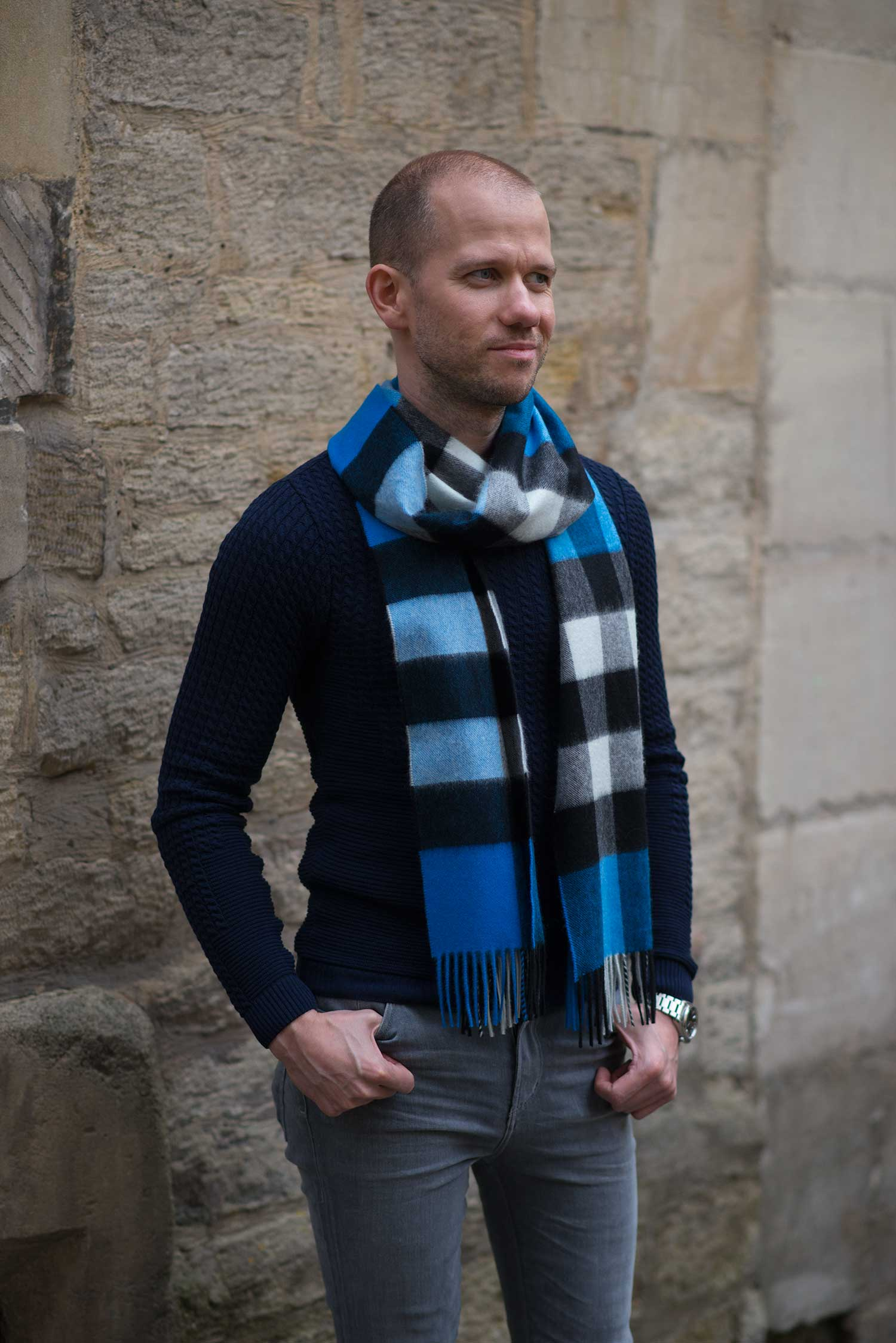 cornflower-blue-burberry-cashmere-scarf-on-mens-fashion-blogger