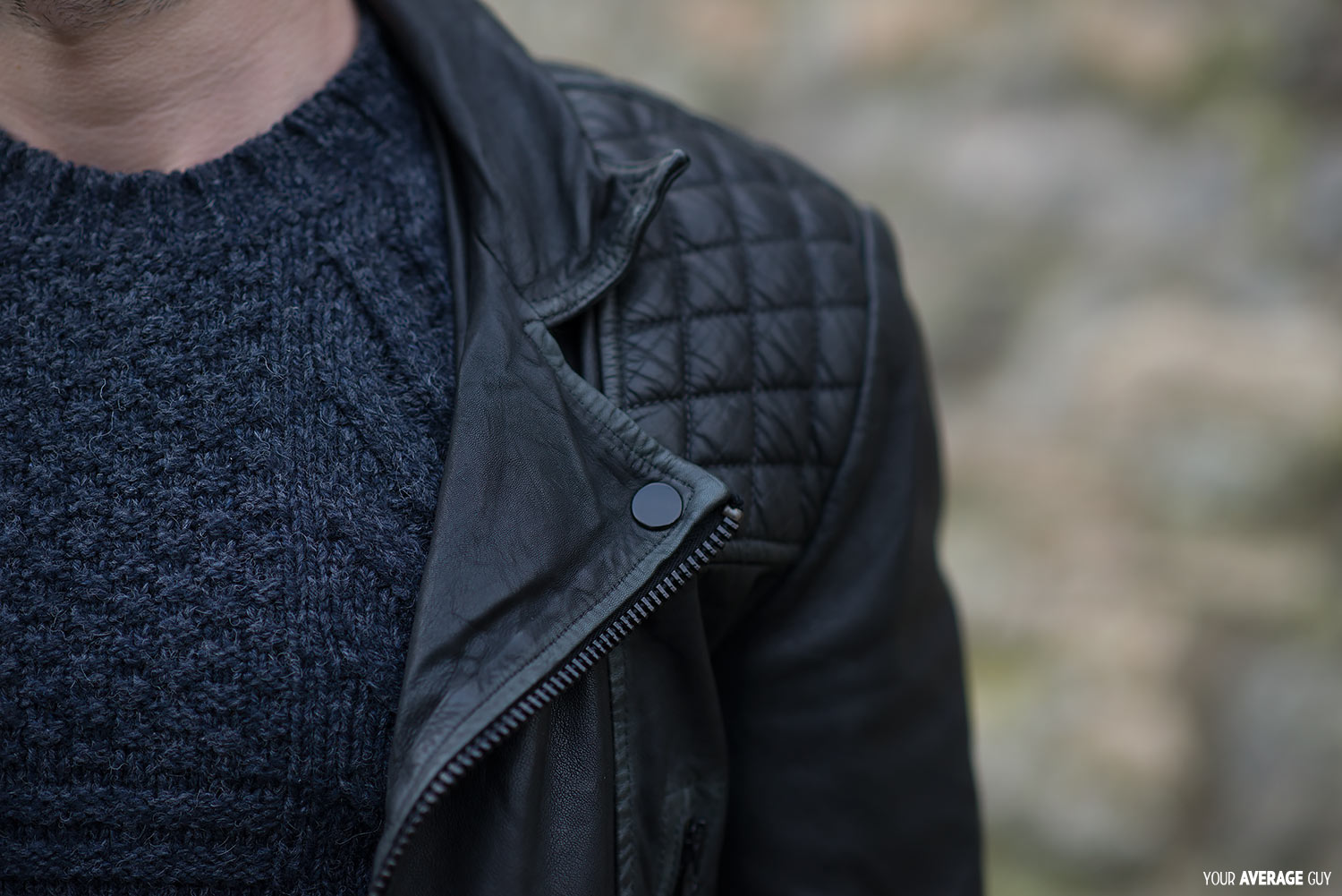 Leather jacket all saints - Buy This Allsaints Cargo Leather Jacket Online Here