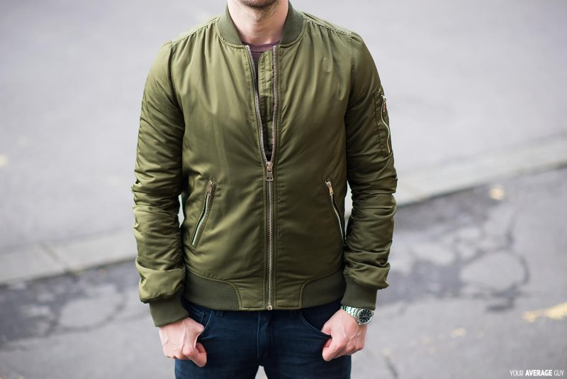 b412c3db4 Topshop Tall MA1 Bomber Jacket For Men   Your Average Guy