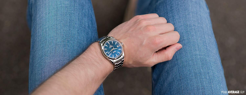 omega aqua terra watch