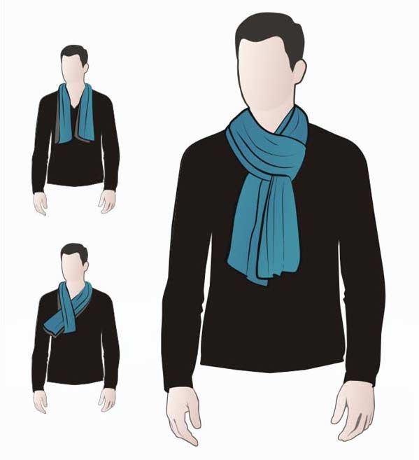 How To Tie A Scarf Parisian