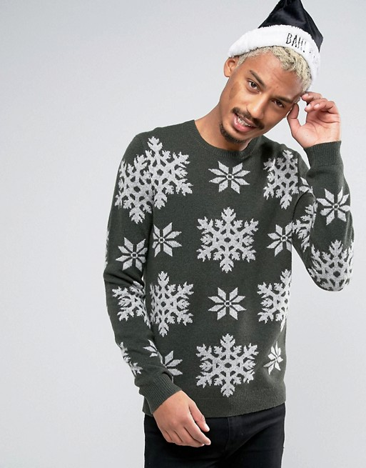 asos-lambswool-rich-jumper-with-snowflakes