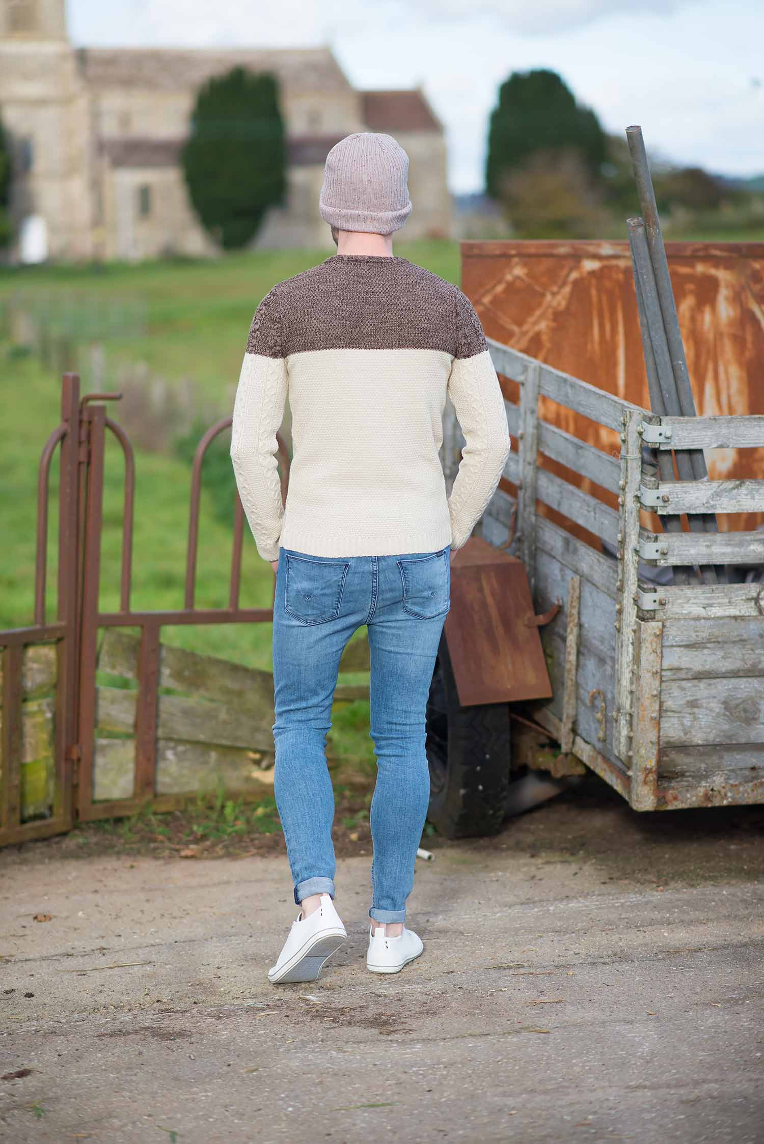 Mens Fashion Blogger Hudson Barbara Skinny Jeans