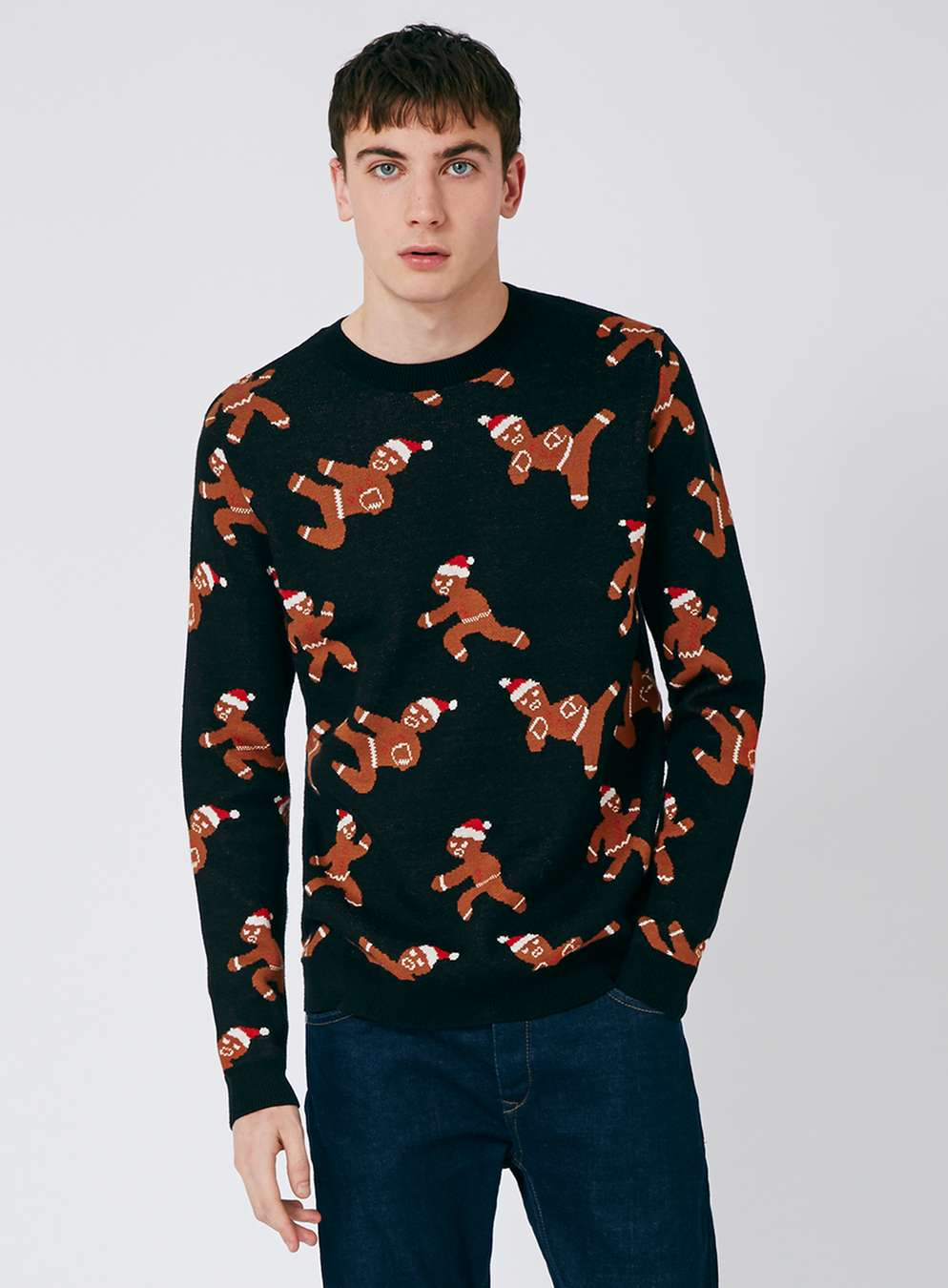 topman-ninja-bread-christmas-jumper