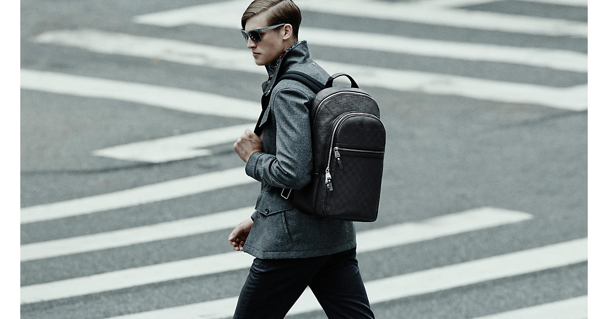 From sleek leather styles to ultra-cool streetwear designs, we've curated the most innovative collection of men's backpacks. Look out for vibrant colour blocking, pattern detailing and embellishments across sumptuously crafted styles from world leading designers.