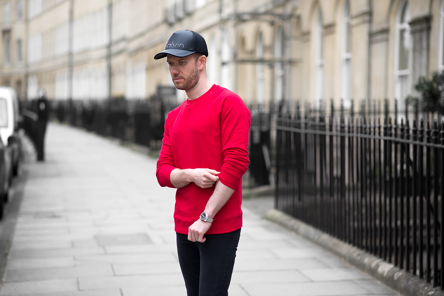 marvellous red sweatshirt outfits 2017