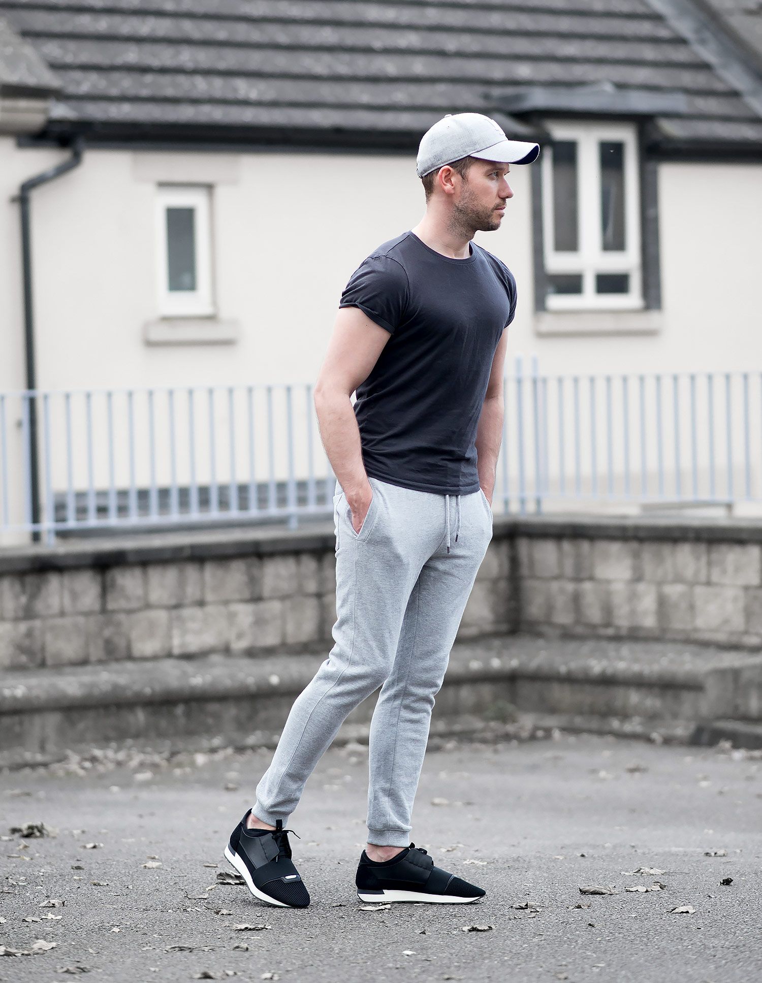 Topman Joggers And Balenciaga Race Runners Outfit | Your Average Guy