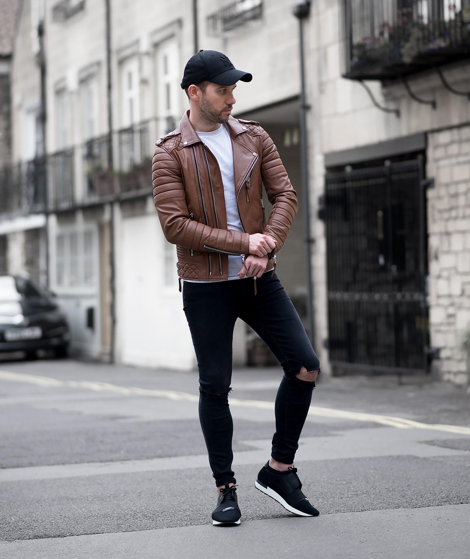 Boda Skins Antique Brown Biker Jacket Revisted Your Average Guy