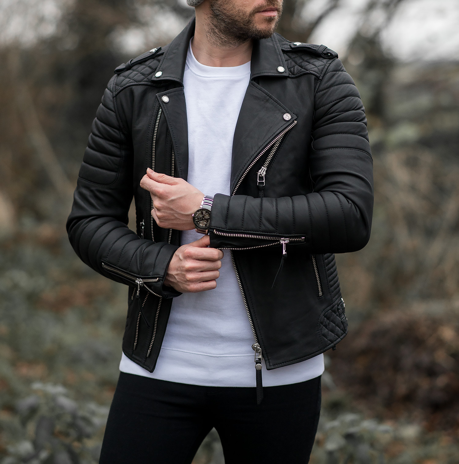 ba71d51cd78 Boda Skins Kay Michaels Men s Leather Jacket Review