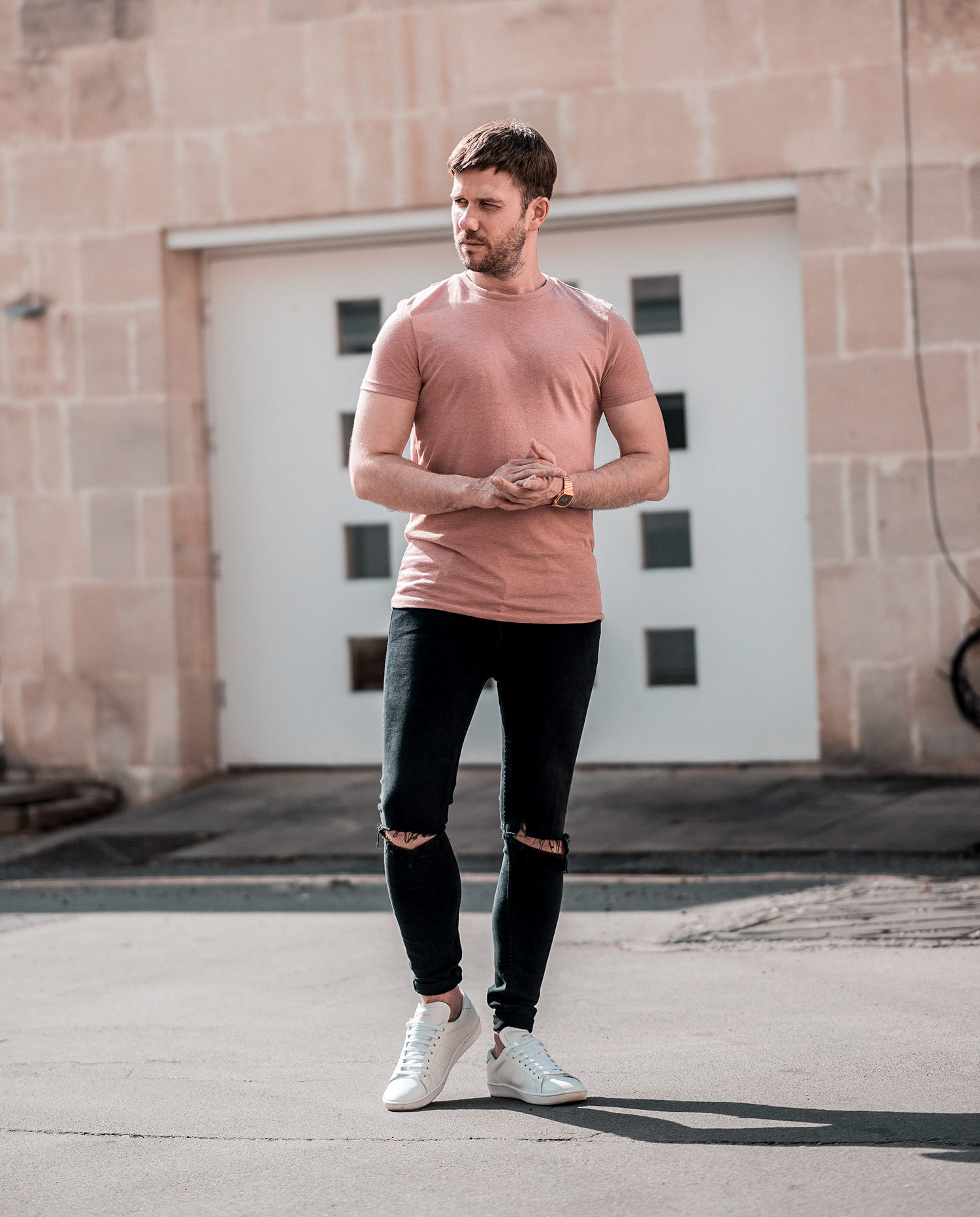 excellent pink shirt outfit male girls