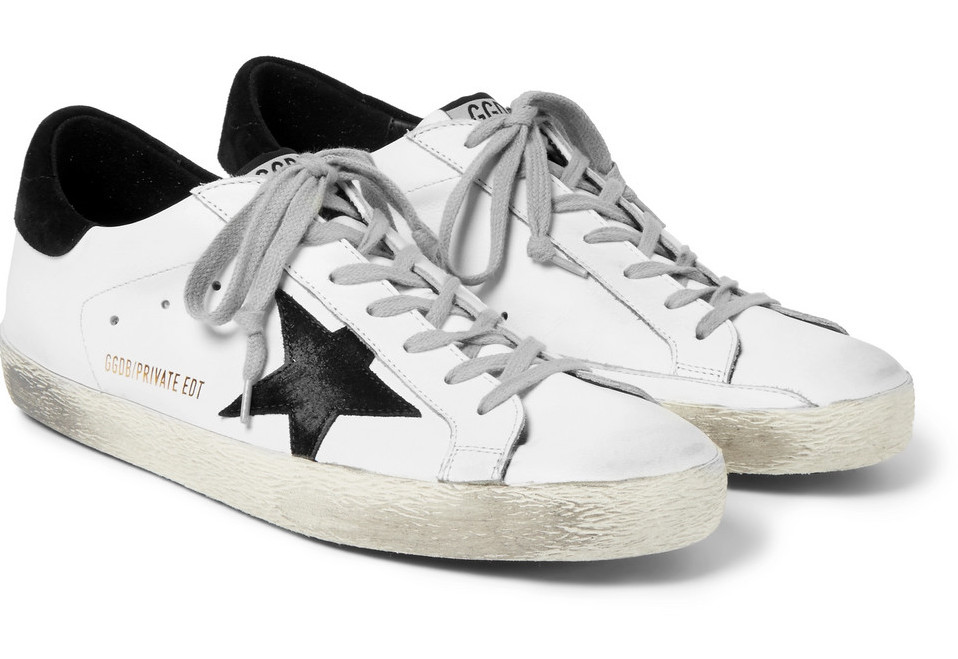 Golden Goose Deluxe Brand Mr Porter Exclusive Sneakers