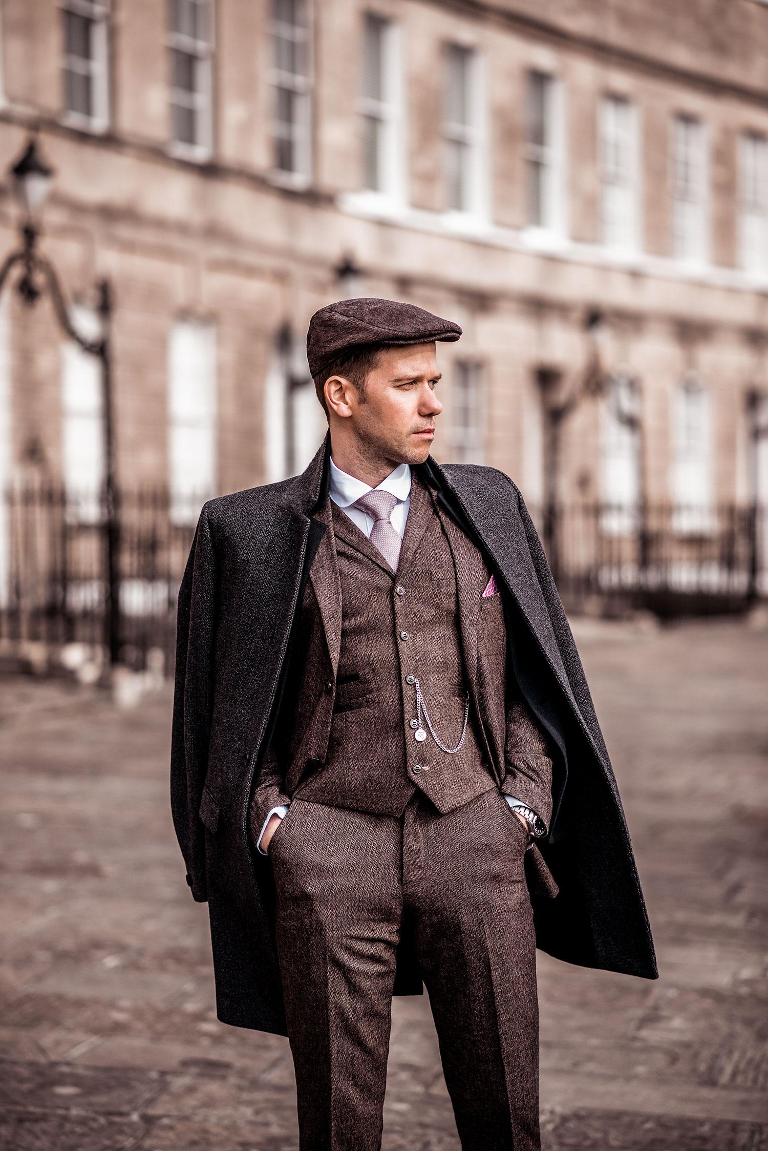Peaky Blinders Tweed Outfit How To Dress Like Thomas