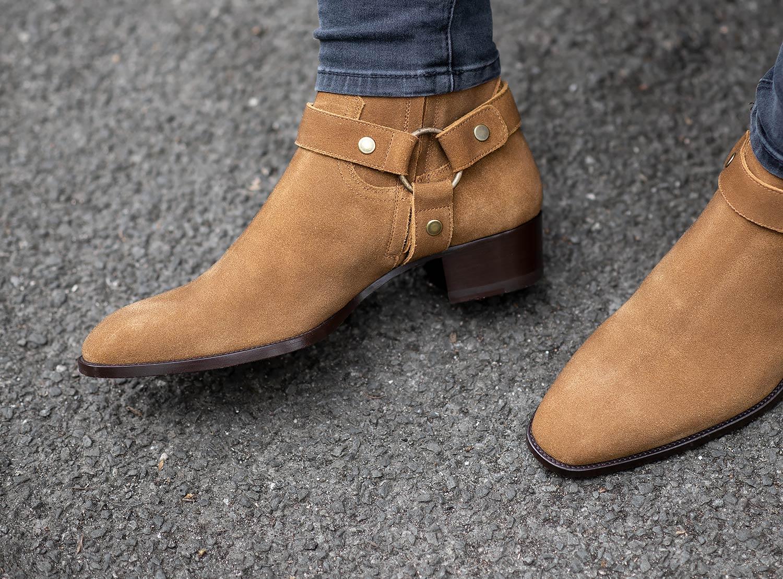 saint laurent boots mens sale
