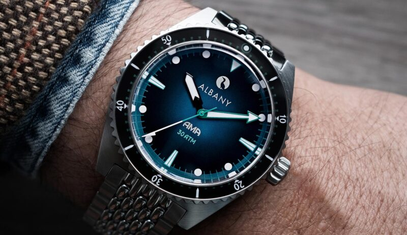 Ama Divers Watch From Albany Watches Launch